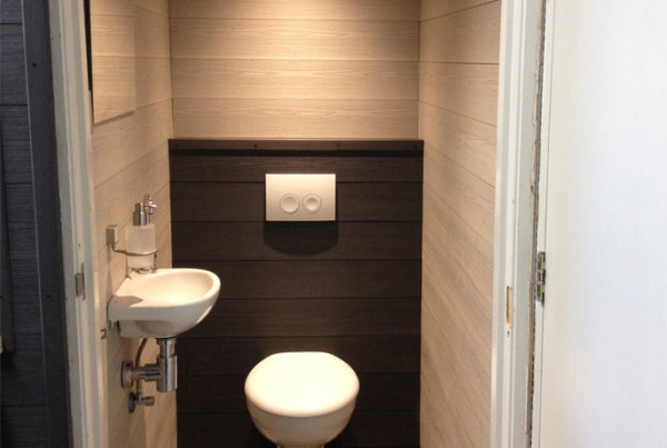 Bamboe Composiet toilet bacodeck