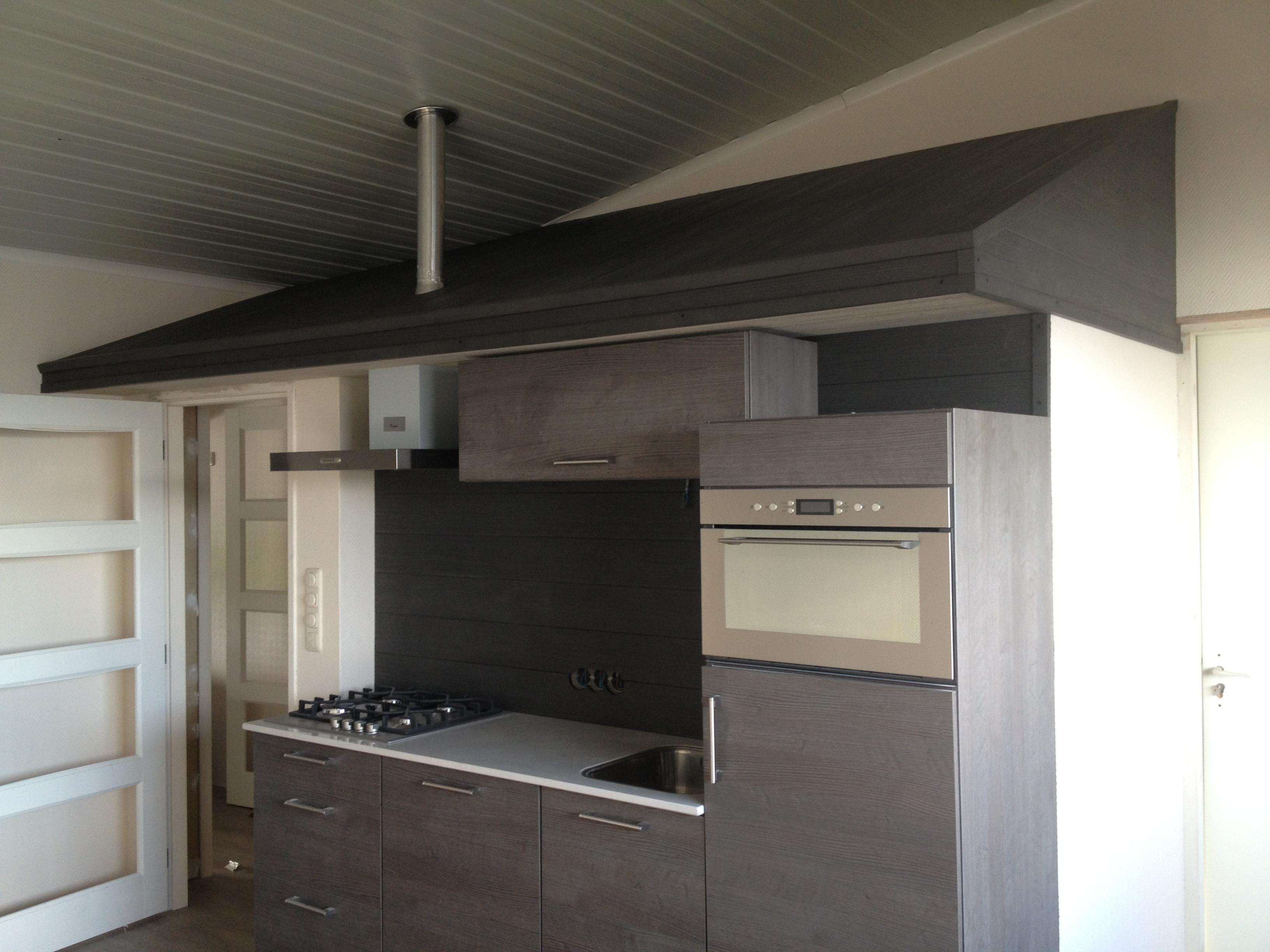 Keuken met Bacodeck wandbekleding